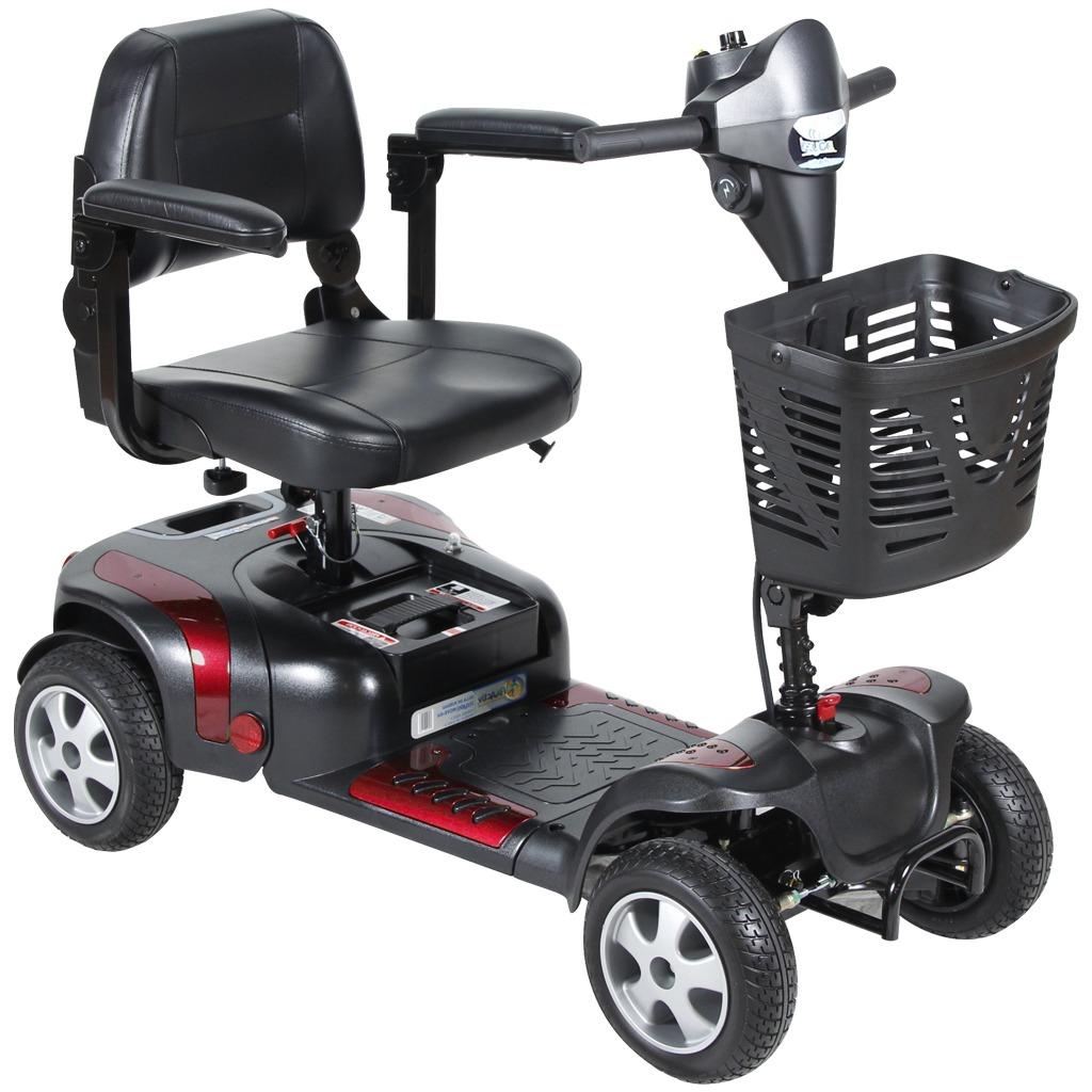 Scooter Izzygo 4 Ruedas Azul Mobility Go